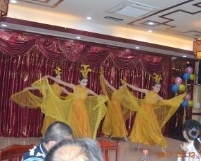Factory celebration ceremony